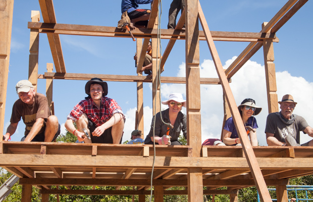 Building VBC's 100th house