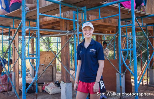 Fairholme College students volunteer for the fourth year